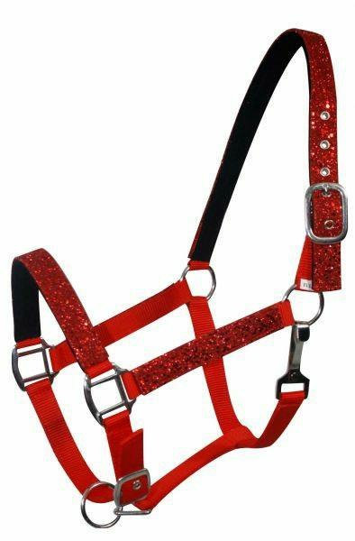 Red pony halter (6552P)