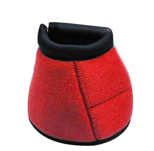 Red bell boots