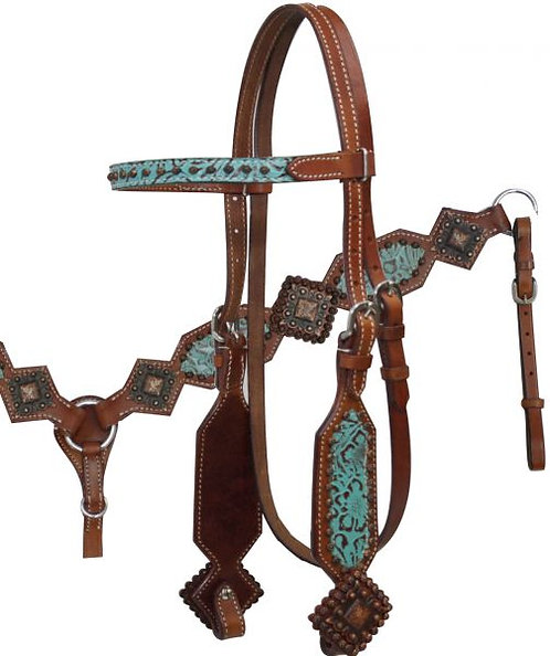 Headstall and breastcollar (12800)