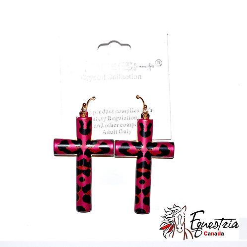 Croix roses / Pink crosses (01002)