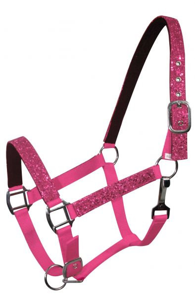 Pink pony halter (6552P)