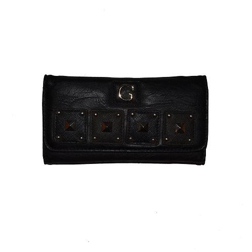Portefeuille noir / Black wallet (W2011)