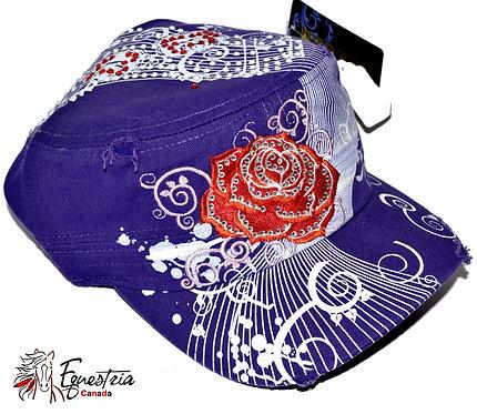 Casquette mauve / Purple cap (02021)