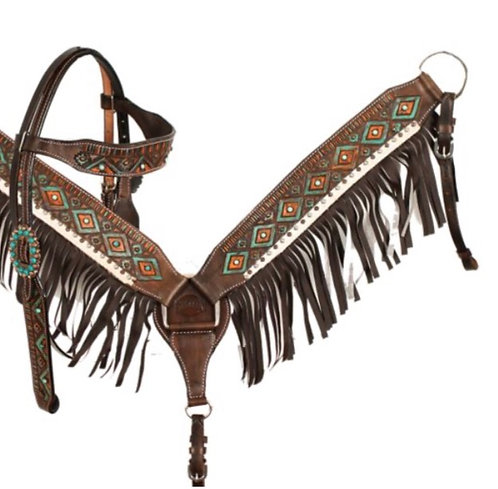 Headstall and breastcollar (85044)