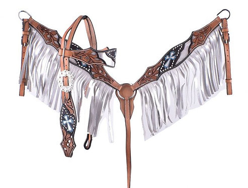 Headstall and breastcollar set (201901)
