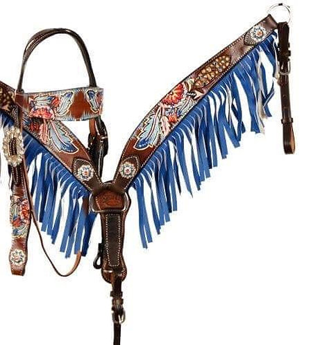 Headstall and breascollar (85042)