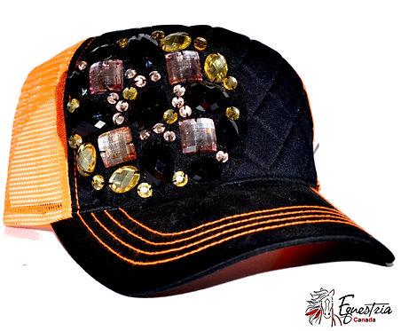 Casquette orange / Orange cap (02023)