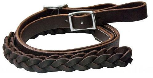 Rênes en cuir / Leather reins (5645)