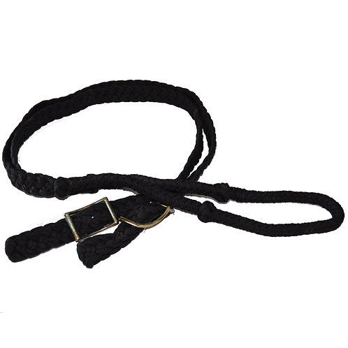 Rênes de baril noirs / Black barrel reins (27109-2)