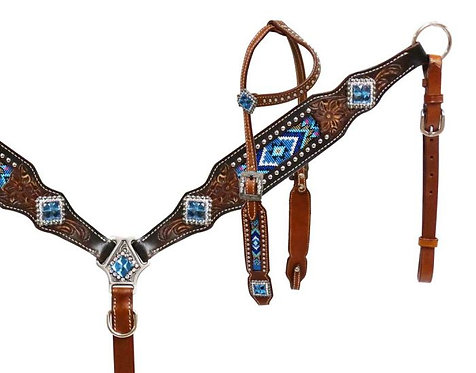Bride et bricole / Headstall and breastcollar (13523)