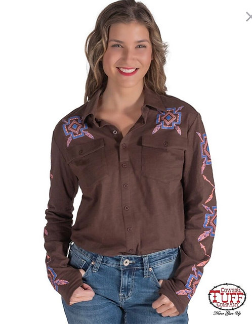 Cowgirl Tuff Shirt (H00690)