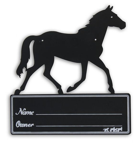 Stall name plate (72H0094)