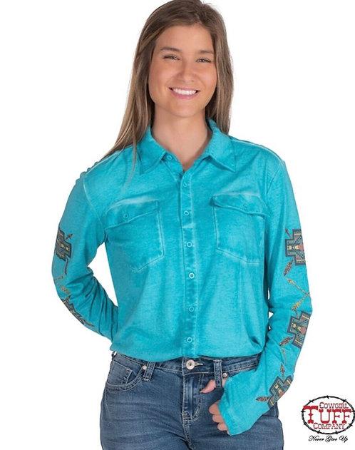 Cowgirl Tuff Shirt (H00667)