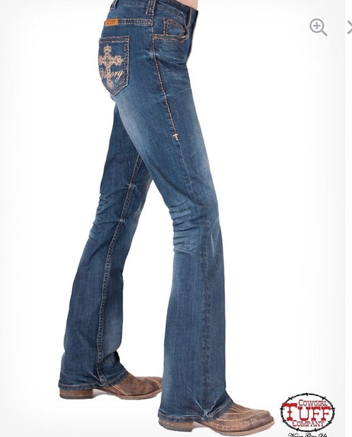 Cowgirl Tuff Jeans (True Victory)