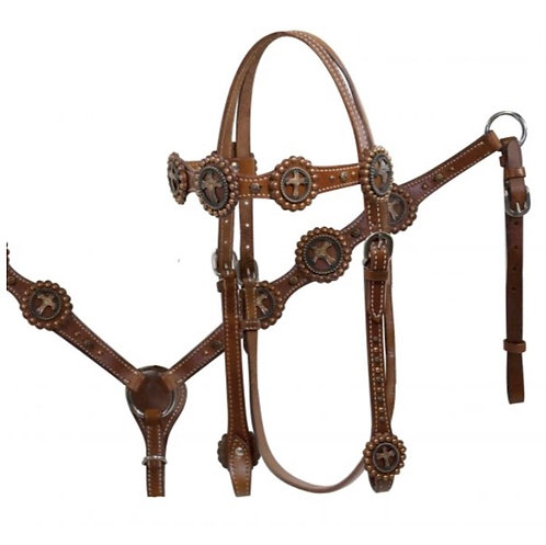 Headstall & Breastcollar (12796)