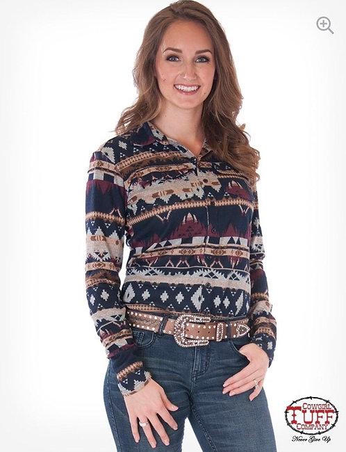Cowgirl Tuff Shirt (H00641)