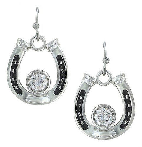 Montana Silversmiths Horseshoe Earrings