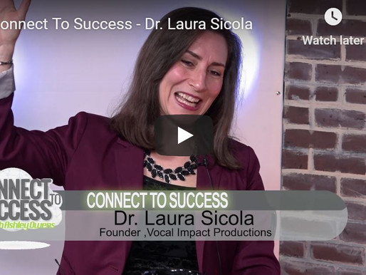 TedX Speaker Dr. Laura Sicola Talks About Getting the Results You Want with Your Leadership Voice.