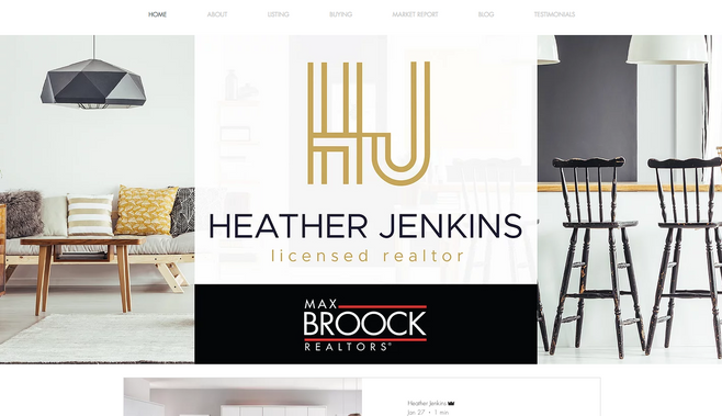 Heather Jenkins Realtor Website