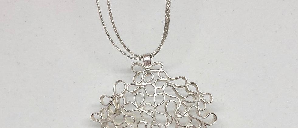 Celosias Silver Pendant