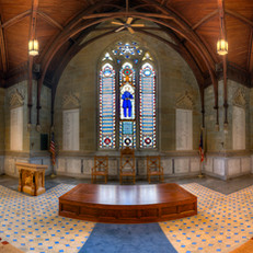 Civil War Memorial Chapel Interior