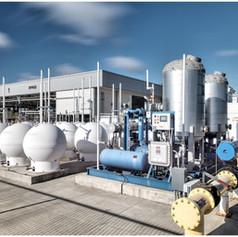 Natural gas conversion plant