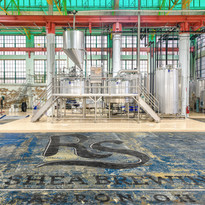 Ron Shea Brewery brewing floor