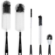 Black & White Bottle Brush Set