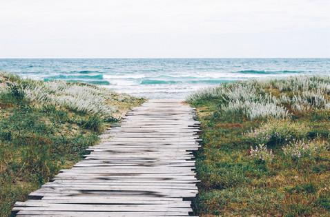 La plage, proche...