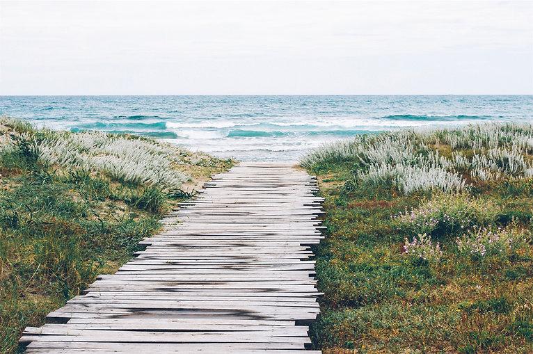 Rustikaler-Weg-zum-Strand