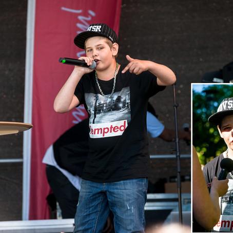 Kevin ägde scenen med digitala beats