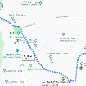 Mount of Olives DIY Walking Tour