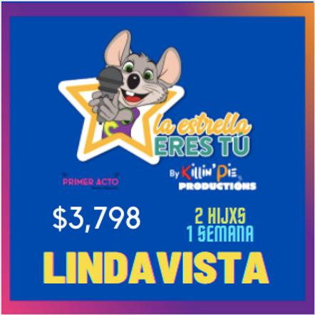LINDAVISTA 1 semana 2 niñxs (lunes a jueves) Curso de verano