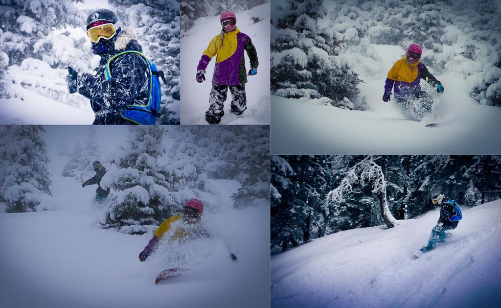 Finally Chamonix is looking like winter!