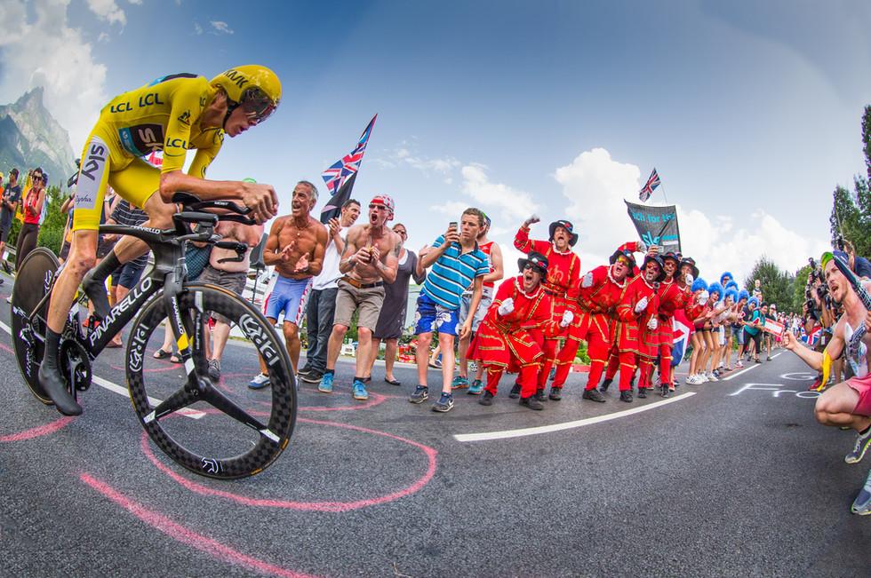 The Tour de France comes to Mt Blanc