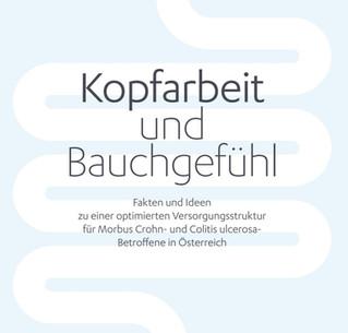 """""""Kopfarbeit und Bauchgefühl"""" – ein Ergebnisbericht zur CED-Versorgung in Österreich"""