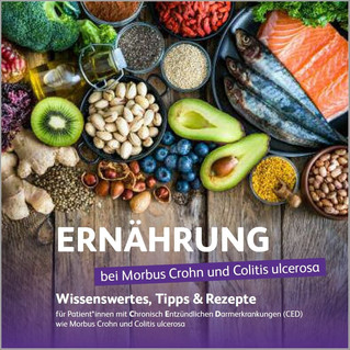 Ernährung bei CED - neues Booklet ab sofort online!