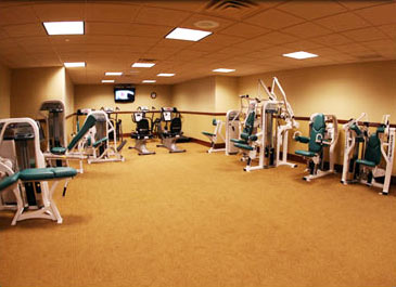 Hawk Pointe Golf Club Gym
