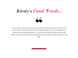 Kirsty Business Leader