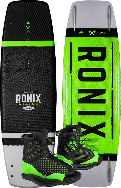 2020 Ronix District Board + District Boots Package