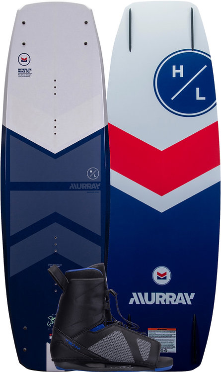 2022 Hyperlite Murray Wakeboard + Team OT Boots Package
