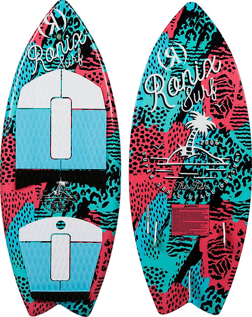 2021 Ronix Super Sonic Space Odyssey Fish Girl's Wakesurf Board
