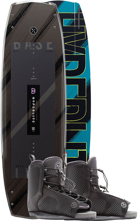 2020 Hyperlite Baseline Wakeboard + Remix Boots Package