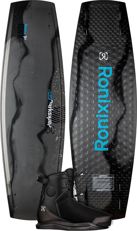 2022 Ronix Parks Wakeboard + Parks Boots Package