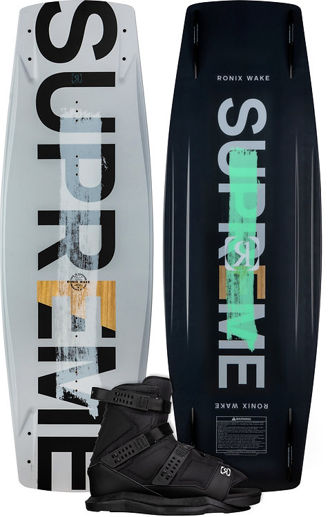 2022 Ronix Supreme Wakeboard +Anthem Boots Package