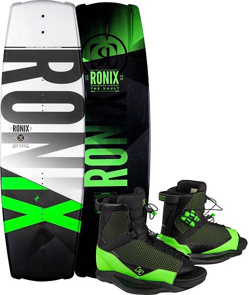 2021 Ronix Vault Wakeboard + District Boots