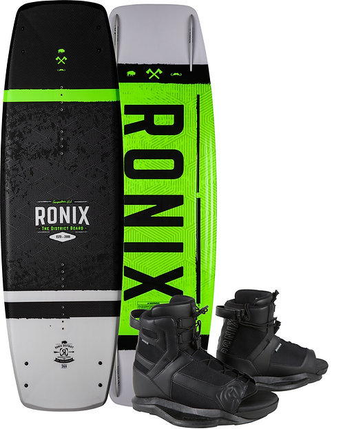 2021 Ronix District Wakeboard + Divide Boots