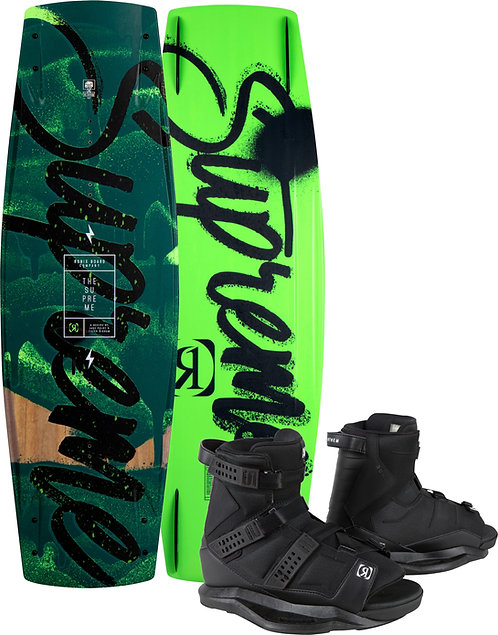 2021 Ronix Supreme Wakeboard + Anthem Boots