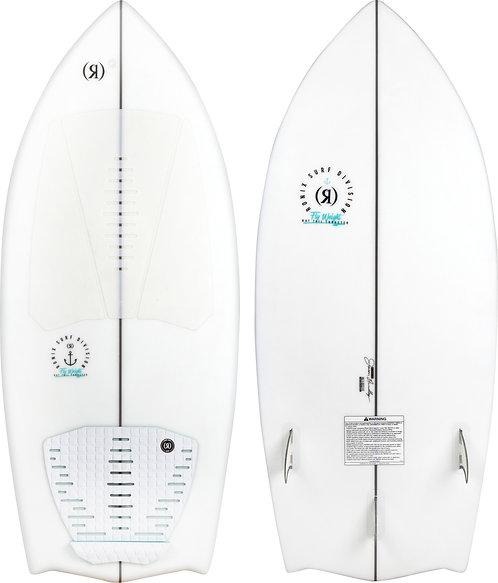 2021 Ronix Flyweight Bat Tail Thruster Wakesurf Board