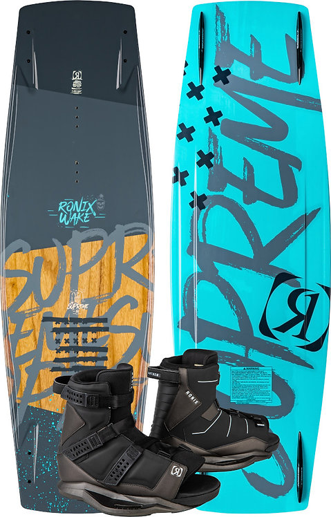 2020 Ronix Supreme Board + Anthem Boots Package